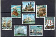 Paraguay Barcos de Vela valores diversos (DV-262)