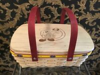 JELLY BELLY RARE 1st year 2007 Longaberger Left handed weaver basket collectors