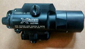 SureFire X400U-A-RD X400 ULTRA LED Handgun Laser WeaponLight