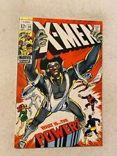 X-MEN #56 VF/NM 9.0 1ST APP OF THE LIVING MONOLITH ORIGIN OF ANGEL NEAL ADAMS