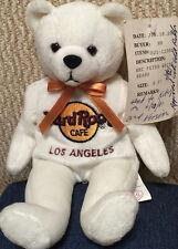 "Hard Rock Cafe LOS ANGELES 2001 ""PETER"" Teddy BEARA #5/5 PROTOTYPE Bean Bag BEAR"
