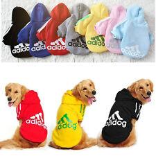 Felpa Giacca adidog con cappuccio - Abbigliamento per cani in tanti colori Nuova