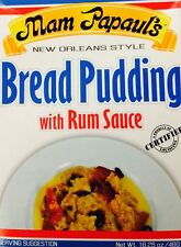 Mam Papaul's Bread Pudding with Rum Sauce, 16.25oz