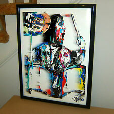 Keith Moon, The Who, Moon the Loon Drummer Drums, Hard Rock, 18x24 POSTER w/COA