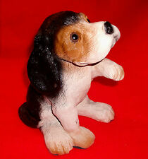 "Adorable vintage ""Begging"" SPANNIEL dog figurine MINT large size Adorable"