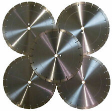 "5PK-12"" 16MM Segment Concrete Brick Block Paver StoneTile Diamond Saw Blade-Best"
