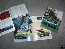 1977 CHEVROLET NOVA  ORIGINAL 12 p. BROCHURE, 77 CHEVY SALES CATALOG