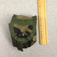 Molle II woodland camo grenade pouch style 4130 Specialty Defense Systems New