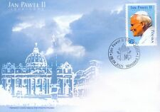FDC -  Death of pope John Paul II  -  2005