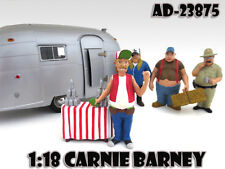 "CARNIE BARNEY ""TRAILER PARK"" FIGURE FOR 1:18 SCALE MODELS AMERICAN DIORAMA 23875"
