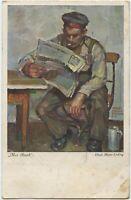 Soldier KB 6 Feld Art Regt Feldpost 1916 Militaria German WW1 Postcard (334)