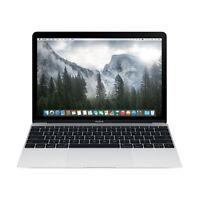"Apple Macbook Core M3 1.1GHz 8GB RAM 256GB SSD 12"" Silver MLHA2LL/A (2016)"
