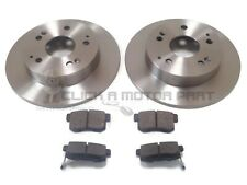 OEM SPEC REAR DISCS AND PADS 260mm FOR HONDA CIVIC 2.0 TYPE-S 2004-06