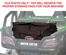 Tusk UTV Storage Pack Cargo Box Fits: Arctic Cat Wildcat 1000 / Wildcat 4 1000