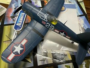 """Sold Out Franklin Mint/Armour Collection 1:48 Die Cast F4U-Corsair """"White 29"""""""