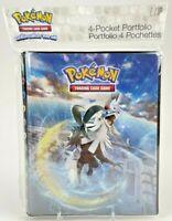 Pokemon ULTRA PRO 4 Pocket Album Portfolio SUN & MOON Crimson Invasion Holder