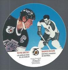 1991-92 Kraft #65 Wayne Gretzky/Maurice Richard - NM-MT