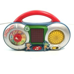 Leap Frog Fridge DJ Radio Learning Educational Toy Magnetic Radio ABC 123 Songs
