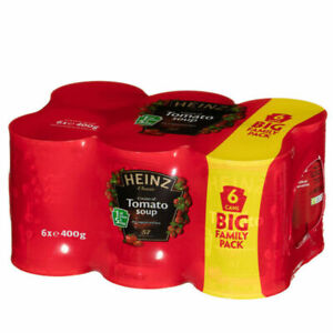 Heinz Tomato Soup Big Family Pack - 6 x 400g