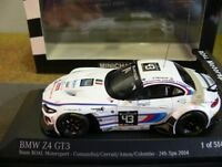 1/43 Minichamps BMW Z4 GT3 24h Spa 2014 Team ROAL Motorsport #43