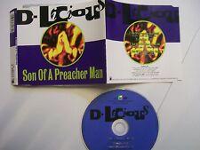 D-LICIOUS Son Of A Preacher Man – 1992 German Maxi CD – Euro House – RARE!