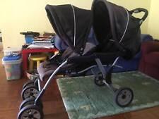 Cheap tandem pram double stroller