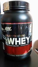 Optimum Nutrition 100% Whey Gold Standard, DOUBLE RICH CHOCOLATE, 2 lb. Bottle