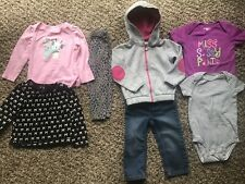 Cute!!! 18-24 Months Girls 7 Piece Clothing Lot