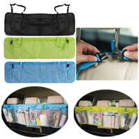 Long Style Auto Car Seat Back Bag Hanging Travel Storage Bag Organizer