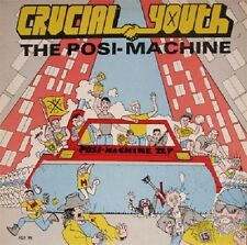 Crucial Youth - The Posi Machine - 2001 Straight Edge Punk NEW Cassette