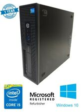 HP EliteDesk 800 G1 SFF i5 Customizable PC w/ 1 Year Warranty