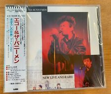 """ECHO & THE BUNNYMEN """"NEW LIVE AND RARE"""" CD JAPAN 22P2-2155 1988 FACTORY SEALED"""