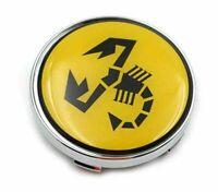 Für Fiat Abarth 500 4x 60mm Autoräder Nabendeckel Radmitte Kappen Emblem Logo
