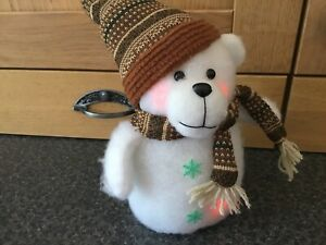 20cm Xmas Bear With 3xAA For Christmas Fun 🤡