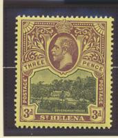 St. Helena Stamp Scott #66, Mint Lightly Hinged