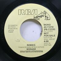 Hear! Northern Soul Promo 45 Mirage - Romeo / Same On Rca (Promo)