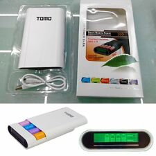 TOMO Intelligent Portable Display Power Bank 18650 Battery Charger For Cellphone