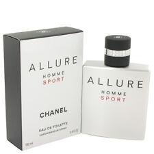 ALLURE HOMME SPORT By CHANEL 3.4 oz / 100ml Eau De Toilette Spray Men Perfume