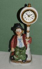 Melody in Motion Spieluhr Spieldose Porzellanfigur Penner Willie Uhr Kaminuhr