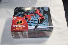 Incredibles 2 Jigsaw Puzzle Lunchbox Tin 24 Pieces Disney Pixar Cardinal