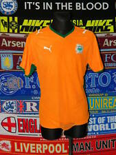 4.5/5 Ivory Coast adults L 2008 football shirt jersey trikot camiseta