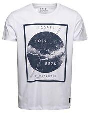 NUEVO Jack&Jones Core Camiseta Hombre JJ CO Alegrame SS Cuello Redondo