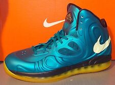 MENS NIKE AIR MAX HYPERPOSITE TEAL / SNC YELLOW / BLPRNT SIZE 9.5
