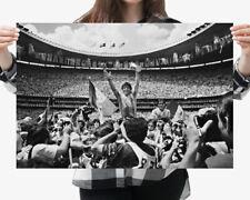 02 Maradona Legend Great Football Super Star Print Art Silk Cloth Poster Deco