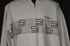 Sean John Mens XXL Beige Tan Zip Up Hoodie Sweatshirt Long Sleeve Jacket