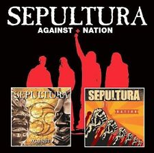 Against/Nation by Sepultura (2CD,-2008 ROADRUNNER) NEW FACTORY SEALED!
