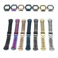 Watchband Bezel - Case Watch Set Fits DW5600 - GW-M5610 Metal 316L Stainless St.