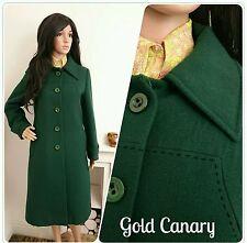 Wool Blend Mod/GoGo Vintage Coats & Jackets for Women