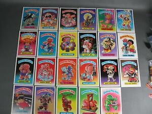 23 Garbage Pail Kids 1986 GPK OS1 Giant 5x7 Sticker Cards Adam Bomb Nasty Nick