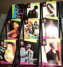 1991 PRO SET SUPER STARS MUSIC CARDS -- COMPLETE 260 CARD SET